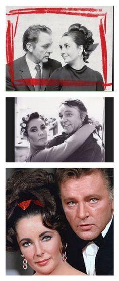 Elizabeth Taylor and Richard Burton,. when it worked, it was amazing❤️).