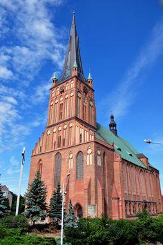 Szczecin Stettin Polen Poland Katedra cathedral