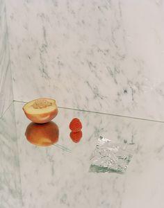 sounddoe: new work/ kayl parker/ still life with peach