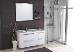 Double Vanity, Shower, Bathroom, Interior, Corner, Google, Indoor, Design Interiors, Double Sink Vanity