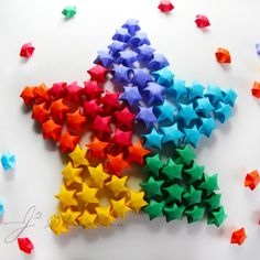 Origami stars.  How about making them glow in the dark?  Directions for making these lucky stars here:  http://www.origami-instructions.com/origami-lucky-star.html and many other places on the web.