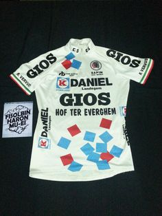 GIOS vintage cycling Jersey
