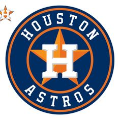 Houston Astros: Logo - Large Officially Licensed MLB Removable Wall Decal