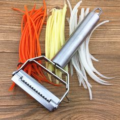 Stainless Steel Potato Fruit Carrot Vegetable Slicer Cutter Grater Kitchen Tools for sale online Carrot Vegetable, Vegetable Slicer, Kitchen Tools, Kitchen Gadgets, Kitchen Dining, Parfait, Cheese Store, Steel Cutter, Grater