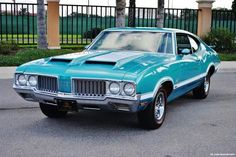 Matching Numbered 1970 Oldsmobile 442 W-30 4-Speed Classic big block