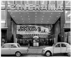 Rotterdam, Cinerama, tijdfens DOCTOR ZHIVAGO, 1966 (foto C. Kramer)