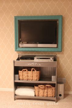 Crafty Texas Girls: Upcycled changing table
