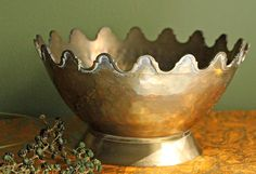 Brass Bowl. Brass Bowl or Planter with by AnythingDiscovered, $36.00
