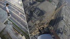 James Kingston scala un cantiere a Dubai