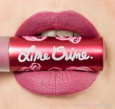 Сказка на губах или Makeup for Unicorns от Lime Crime Lipstick Velvetines в оттенке Polly отзывы — Отзывы о косметике — Косметиста