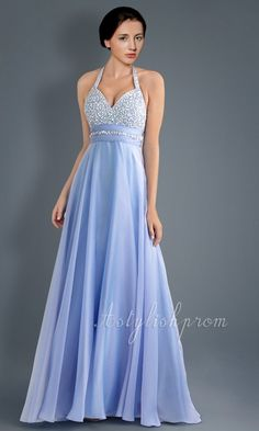 Image detail for -Long Blue gown