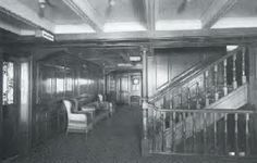 2nd Class Aft Staircase