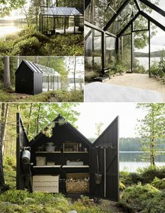 Summer house studio in Finland ~ By Helsinki architect Ville Hara and designer Linda Bergroth
