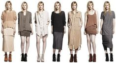 styling, sticking with neutrals to let the scarf colors pop and not get things too over powered with color and texture.