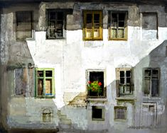 An artwork by Safet Zec, painter and graphic artist. Born 1943 in Rogatica, #Bosnia and #Herzegovina #art