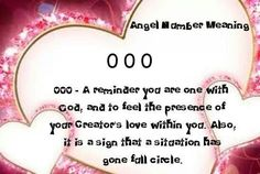 Numerology: Angel Number 000 Meaning | #numerology #angelnumbers