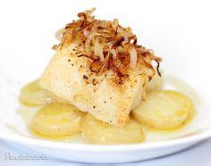 Lombo de Bacalhau com Cebolas Caramelizadas ~ PANELATERAPIA - Blog de Culinária, Gastronomia e Receitas