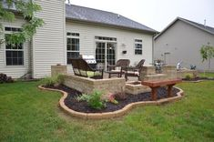 Learn From Our Experience As We Construct Our Very Own Outdoor Oasis  Backyard Paver Patio With Retaining Wall, Fireplace, And Columns.