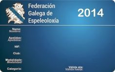 Espeleo Club de Descenso de Cañones (EC/DC): Licencias deportivas FGE 2014