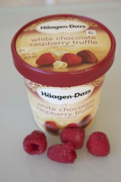 For a rich and tangy taste, try our White Chocolate Raspberry Truffle ice cream!