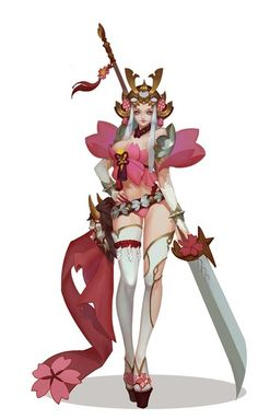 Manqi Lide Japan and South Korea role set legislation painted # # Japan and South Korea original painting # # Chinese style design Female Character Concept, Fantasy Character Design, Character Inspiration, Character Art, Fantasy Characters, Female Characters, Anime Characters, Warrior Girl, Warrior Princess