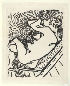 Le Grand Bois (The Large Woodcut)  Henri Matisse (French, 1869–1954) | MoMA, NYC