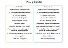 Mariaslekrum - Illustrerade känslor. Social Skills, Preschool, Teacher, Motivation, Education, Feelings, Tips, Professor, Advice