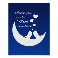 i love you to the moon and back tattoos - Google Search