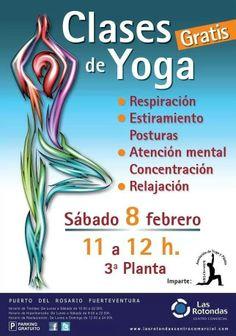 Clases de Yoga en #Fuerteventura #Gratis 8 de Febrero 2014