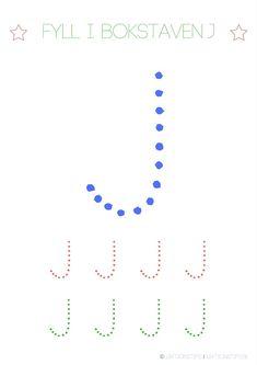 Lär dig skriva hela alfabetet med dessa färgglada bokstäver i färgerna röd, grön och blå – Lektionstips Swedish Language, Tracing Letters, Cool Kids, Lettering, Teaching, Communication, Education, Inspiration, Alphabet
