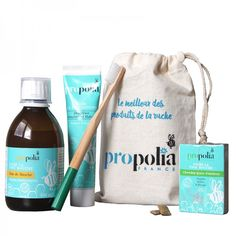 Trousse de Soins Bucco-Dentaire Propolia Toothpaste Recipe, Homemade Toothpaste, Propolis, Number Games, Purifier, Hygiene, Dental Implants, Recipe For 4, Dental Care