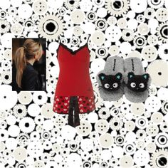 """Alex's pj's one"" by blackrose0129 ❤ liked on Polyvore"