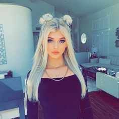Cool Girl Images, Cool Girl Pictures, Stylish Girl Images, Stylish Girl Pic, Summer Hairstyles, Cool Hairstyles, Yellow Hair Color, Peinados Pin Up, Loren Gray