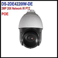 Original English Version Hik 2MP PTZ IP camera POE DS-2DE4220IW-DE security Surveillance Camera ONVIF #Affiliate