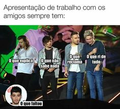 Eu sou o q n sabe d nada e ri d td ou o q faltou Wtf Funny, Funny Cute, Funny Jokes, Top Memes, Best Memes, Funny Images, Funny Pictures, Pinterest Memes, One Direction Memes