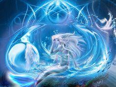 I got: Arctic mermaid! What type of mermaid are you? That description sounds exactly like me! Fantasy Mermaids, Mermaids And Mermen, Mermaid Drawings, Mermaid Art, Mermaid Style, Fantasy Paintings, Fantasy Art, Fantasy Creatures, Sea Creatures