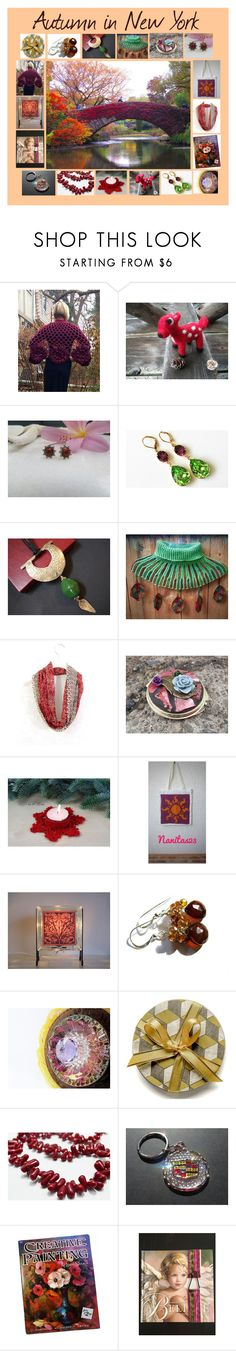 Autumn in New York: Handmade & Vintage Gift Ideas by paulinemcewen on Polyvore featuring rustic, vintage and country