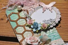 Tres Chic Tag #scrapbooking