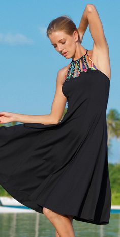 Sunflair 2014 Henri on the Beach Dress 23190 Summer Wear, Summer Outfits, Summer Fun, Beach Cover Ups, Fashion Beauty, Womens Fashion, Swimsuit Cover Ups, Beachwear, Clothes For Women