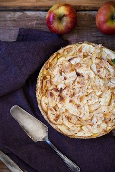 Vanille Apfelkuchen vegan rezept