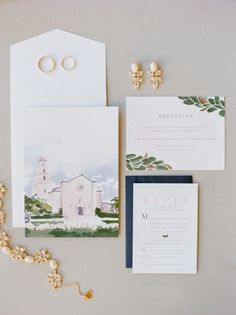 Spring inspired wedding invitation suite: http://www.stylemepretty.com/2017/05/16/berry-toned-spring-houston-wedding/ Photography: Dana Fernandez - http://www.danafernandezphotography.com/