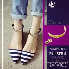 Nuevo adorno para tus zapatos! Encuéntralo solo en ABC Herrajes.