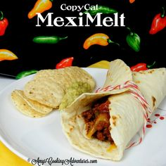 Amy's Cooking Adventures: Copy Cat Taco Bell MexiMelt: SRS