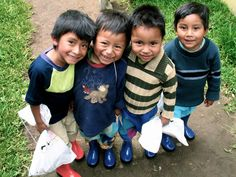 For every pair of rain boots sold, a brand new pair of rain boots are donated to a child in need.