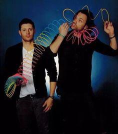 Jensen and Jared... #Supernatural