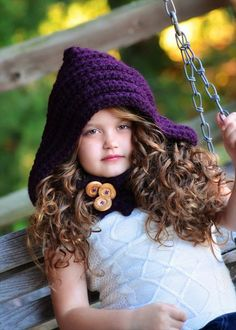 Girls Cute Crochet Hooded Cowl | 101 Crochet
