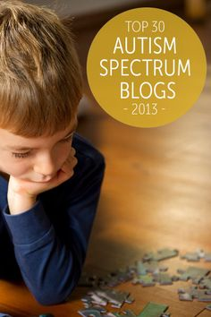 Top 30 Autism Spectrum Blogs of 2013