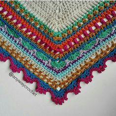 Crochet Sunday Shawl