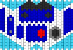 R2D2 bead pattern