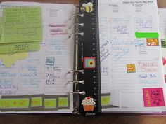 Getting the most our of a Filofax organizer